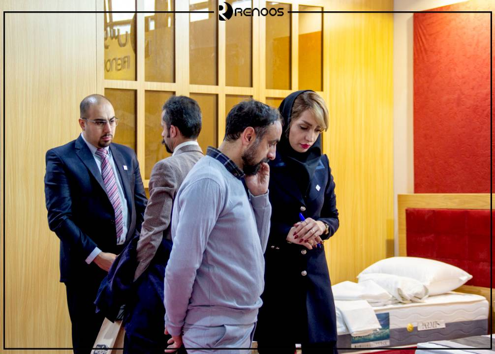 بازدید از غرفه رنوس در نمایشگاه بهمن 1398 در سومین نمایشگاه بین المللی تجهیزات هتل تهران